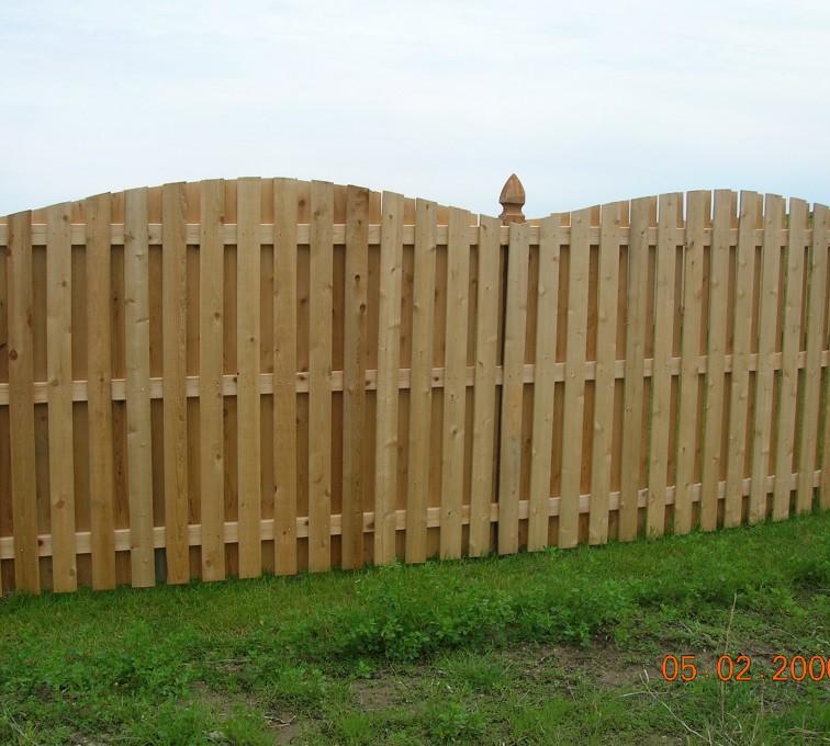 AFC Grand Island - Wood Fencing, 1070 6' BOB OS 1x4