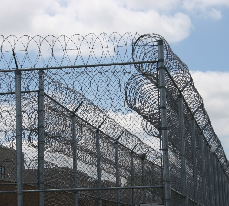 AFC Grand Island - High Security Fencing, 2102 Correctional fence with Concertina wire