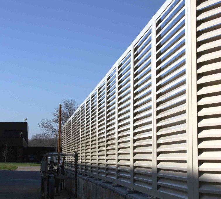 AFC Grand Island - Louvered Fence Systems Fencing, 2224 Louvered Fence