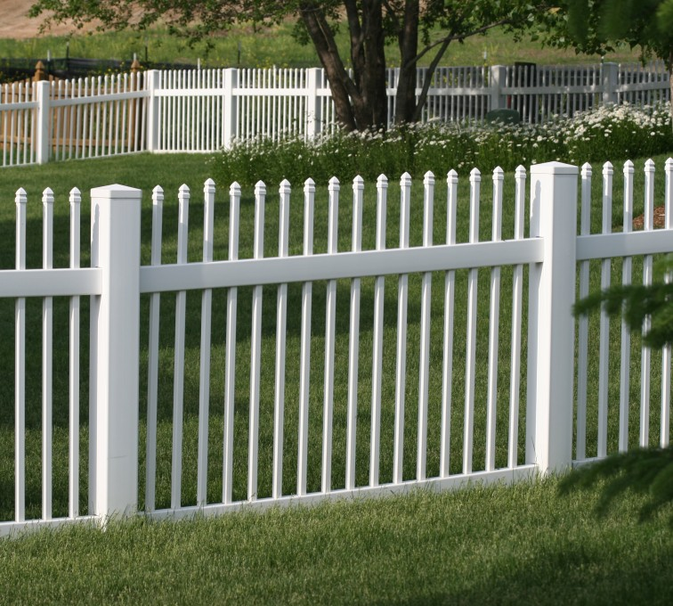 AFC Grand Island - Vinyl Fencing, 4' Ornamental Picket 855