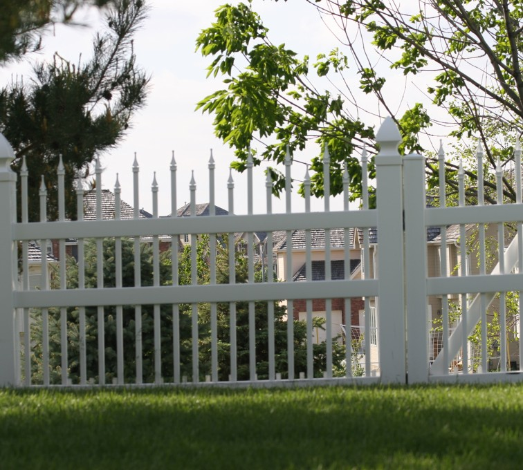 AFC Grand Island - Vinyl Fencing, 4' Ornamental warrior 852