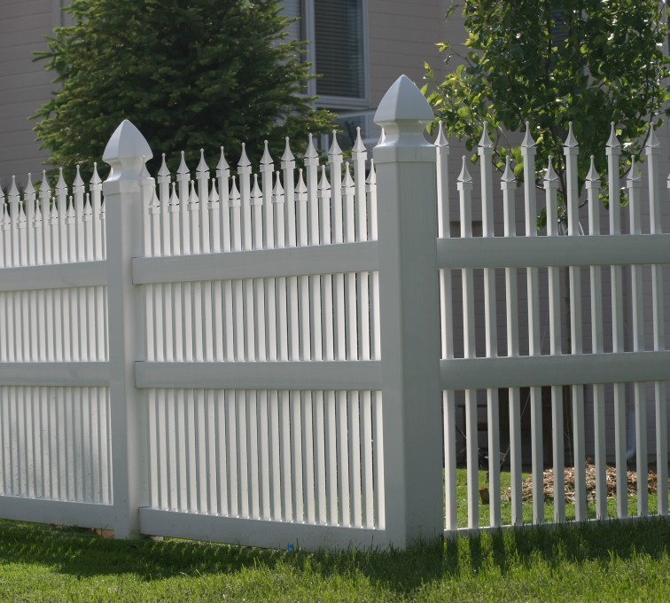 AFC Grand Island - Vinyl Fencing, 4' Ornamental Warrior 853