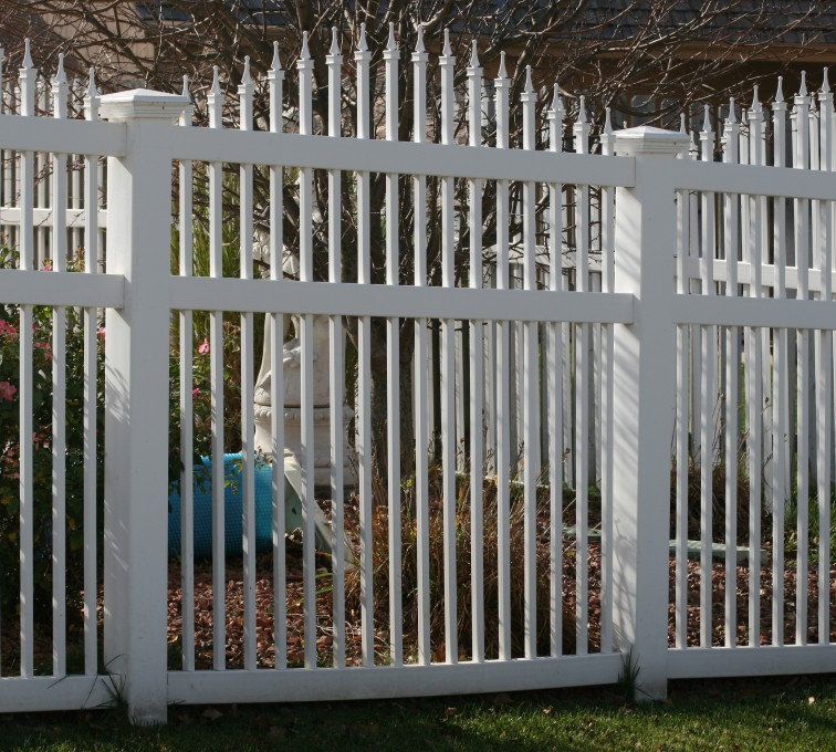 AFC Grand Island - Vinyl Fencing, 562 Vinyl Ornamental Overscallop 6' Photo