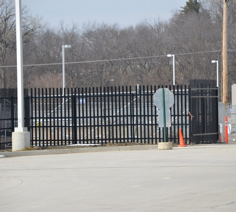 AFC Grand Island - K-Rated Vehicle Restraint Systems Fencing, 8' Crash Rated Ornamental Impasse 3 - AFC - IA