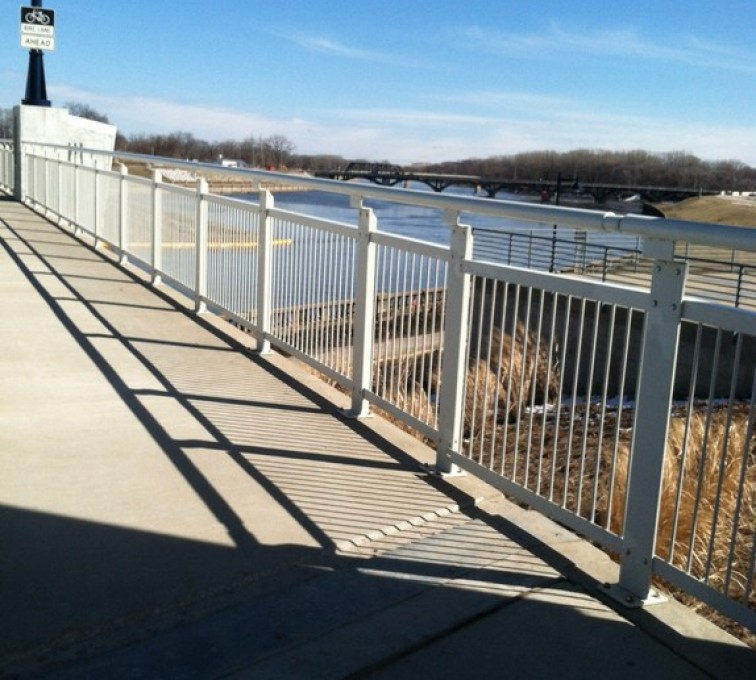 AFC Grand Island - Custom Railing, Custom Ornamental Railing - AFC - IA