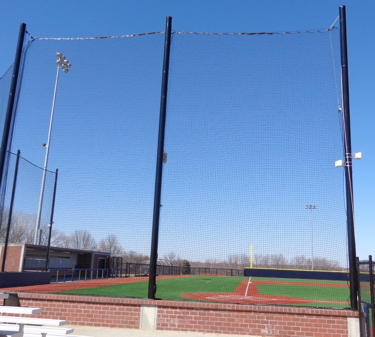 AFC Grand Island - Sports Fencing, Commercial - Backstop - AFC-KC