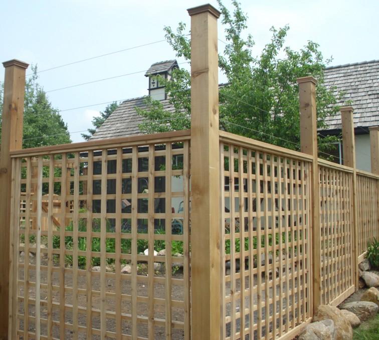 AFC Grand Island - Wood Fencing, Custom Garden Fence 2 AFC, SD