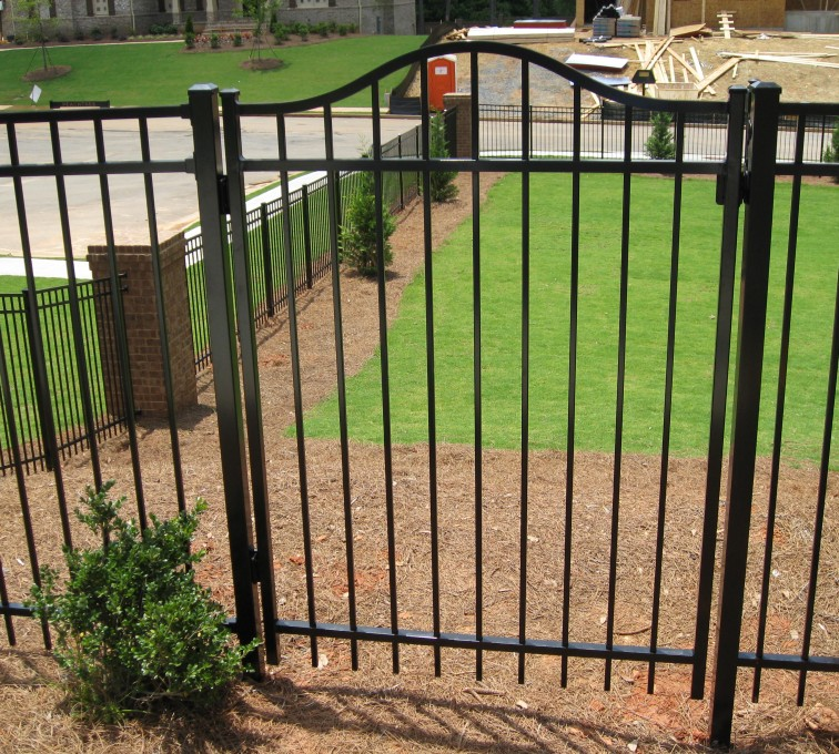 AFC Grand Island - Ameristar Ornamental Fencing, Echelon Majestic with Arched gate