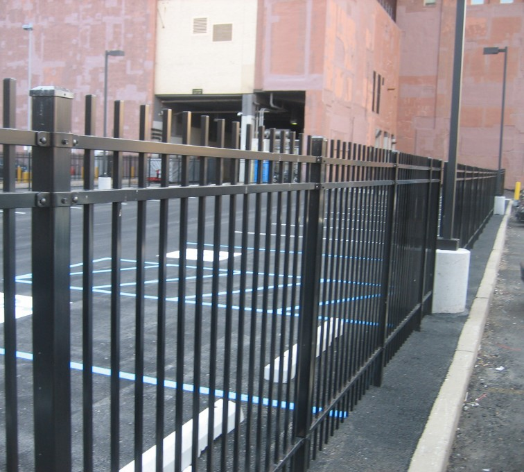 AFC Grand Island - Ameristar Ornamental Fencing, Echelon Plus Genesis with finials