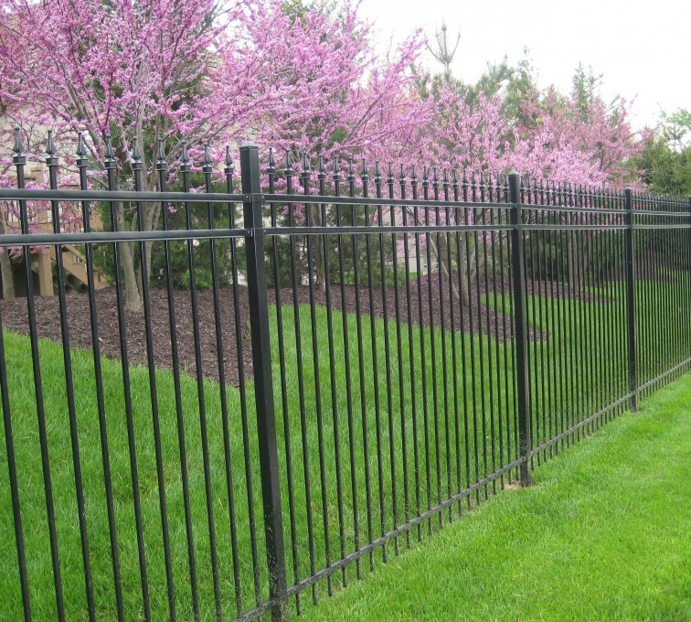AFC Grand Island - Ameristar Ornamental Fencing, Montage Genesis with finials