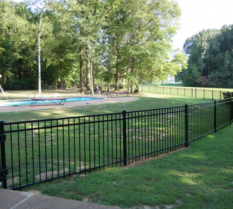 AFC Grand Island - Ameristar Ornamental Fencing, Montage Majestic @ pool