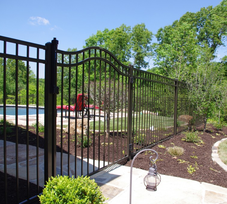 AFC Grand Island - Ameristar Ornamental Fencing, Montage Majestic with Arched gate