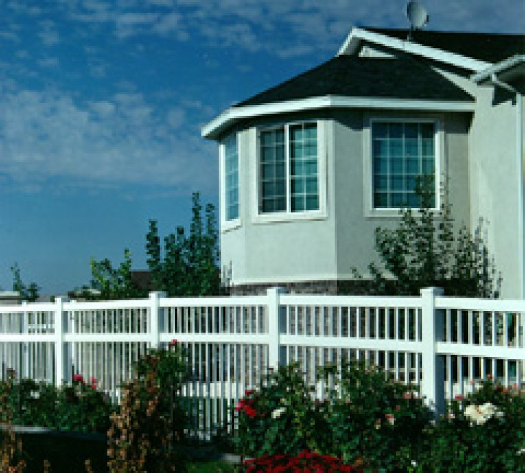 AFC Grand Island - Vinyl Fencing, Ornamental Pool Style 859