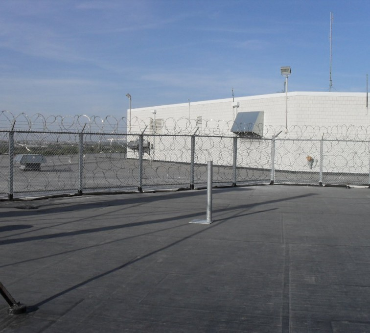 AFC Grand Island - High Security Fencing, Rooftop Concertina