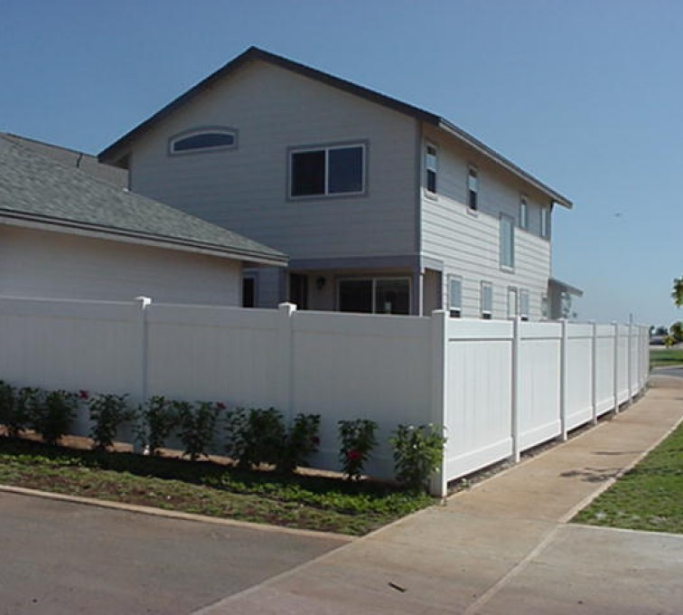 AFC Grand Island - Vinyl Fencing, Solid Privacy (611)