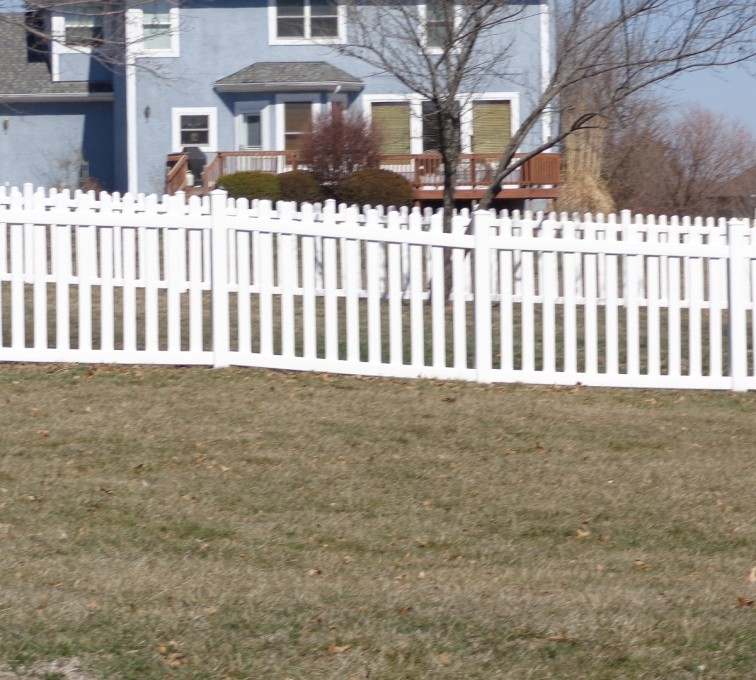 AFC Grand Island - Vinyl Fencing, 4' Picket - AFC-KC