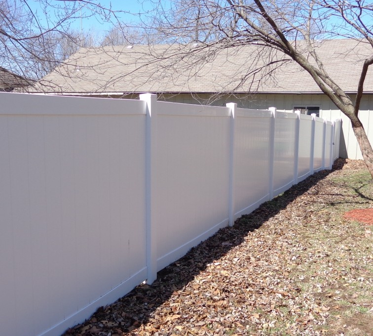 AFC Grand Island - Vinyl Fencing, 6' Privacy - AFC-KC