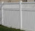AFC Grand Island - Vinyl Fencing,Vinyl 6' private with picket accent 706