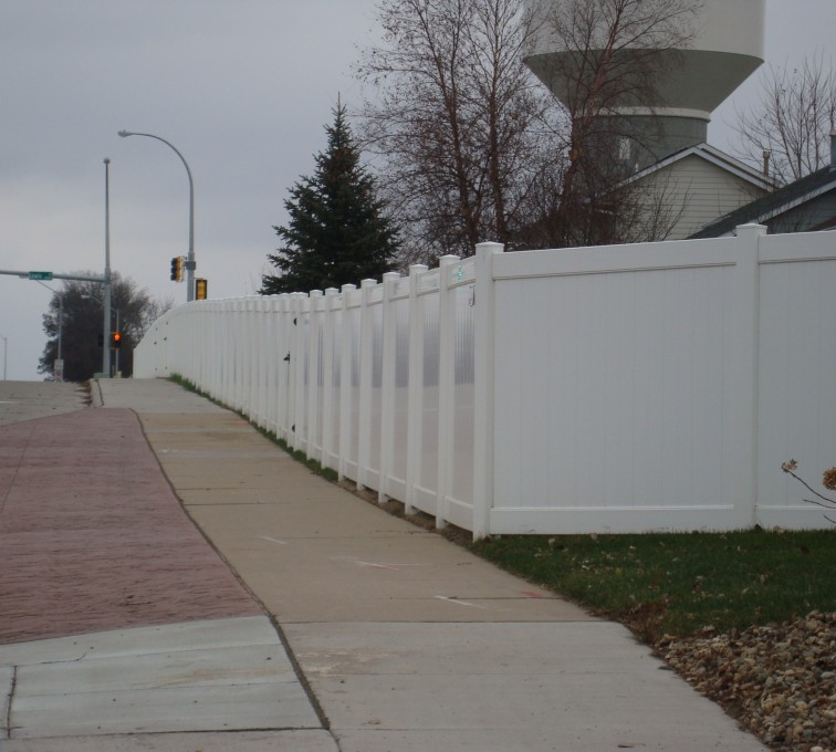 AFC Grand Island - Vinyl Fencing, White Vinyl Privacy AFC, SD