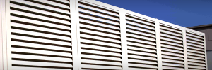 Palmshield Louvered Security Enclosures Serving Grand