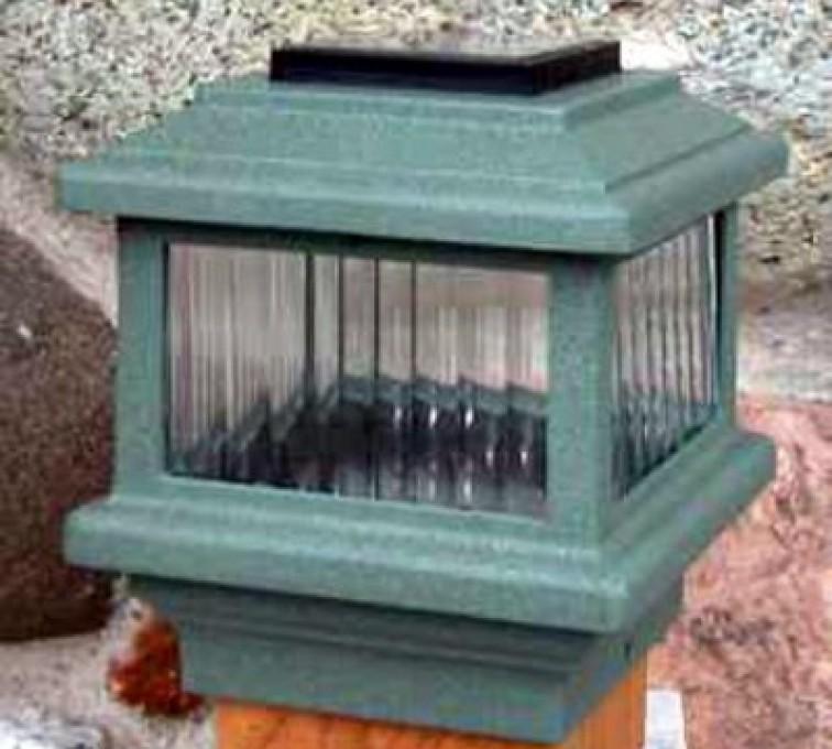 Columbus- Accessories, Solar Cap-Wood Fenc Post