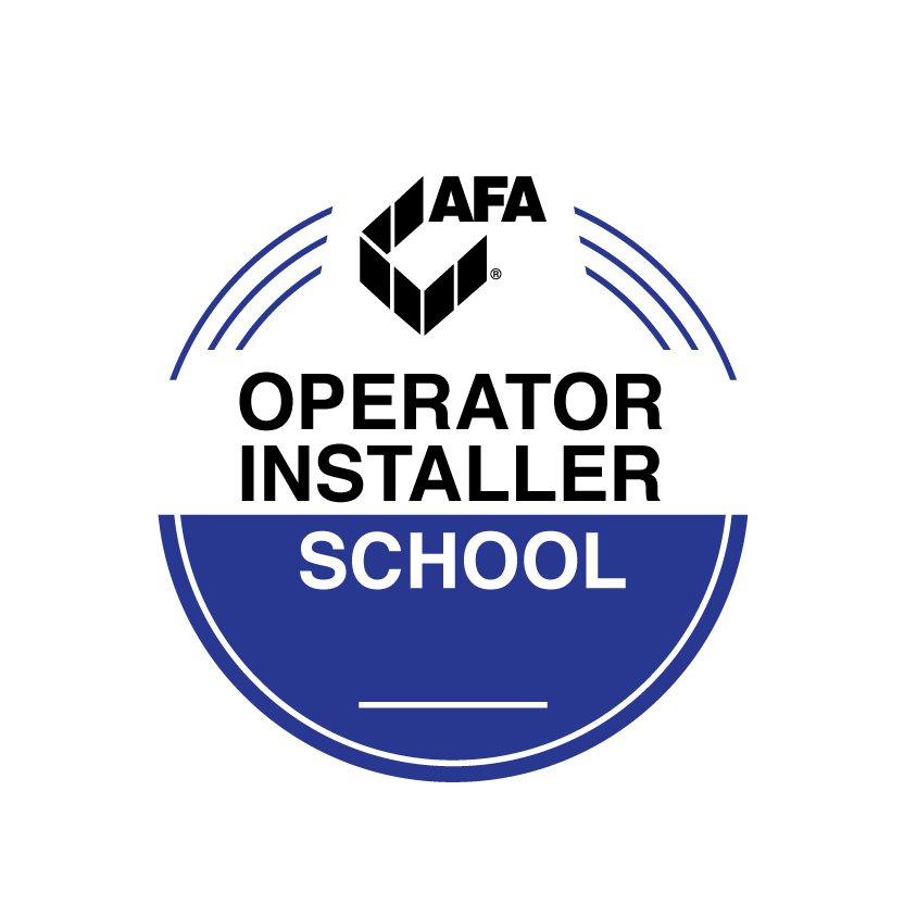 AFA operator installer school logo